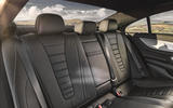 Mercedes-Benz CLS 450 2018 UK review rear seats