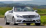 Mercedes-Benz E-Class Convertible 2010 - hero front