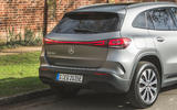7 Mercedes Benz EQA 2021 UK first drive review rear end