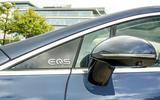 7 Mercedes Benz EQS 2021 UK LHD FD wing mirror badge