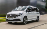 7 Mercedes Benz EQV 2021 LHD first drive review on road front