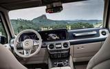 Mercedes-Benz G400d 2019 first drive review - dashboard