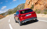 Mercedes-Benz GLA 220d 2020 first drive review - on the road rear