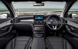 Mercedes-Benz GLC 220d 2019 UK first drive review - cabin