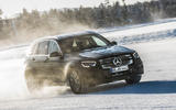 Mercedes-Benz GLC 300 2019 prototype drive - driving front