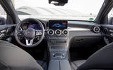 Mercedes-Benz GLC F-Cell 2019 first drive review - dashboard