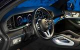 Mercedes-Benz GLE 350de 2020 first drive review - dashboard