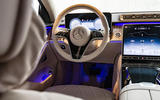 Mercedes-Benz S-Class S500 2020 first drive review - steering wheel