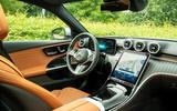7 Mercedes C Class Estate 2021 UK LHD FD cabin