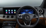 Mercedes-Benz E-Class E300de 2019 UK first drive review - dashboard