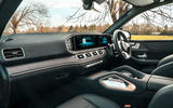 Mercedes-Benz GLE 400d 2019 UK first drive review - dashboard