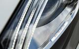 Mercedes-Benz S-Class S500L 2018 long-term review - headlight detail