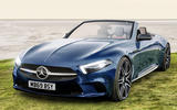 Mercedes-Benz SL render 2019 - stationary front