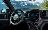 Mini Countryman Cooper S E All4 2020 first drive review - steering wheel