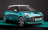 Mini second hatch - static front