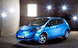Nissan Leaf - static front