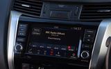 Nissan Navara 2020 UK first drive review - infotainment