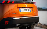 Peugeot 2008 2020 first drive review - rear end