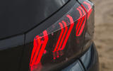 Peugeot 5008 2020 UK First Drive review - rear lights