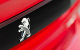 Peugeot 508 2018 review boot badge