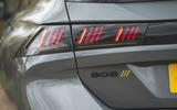7 Peugeot 508 PSE 2021 UK first drive review rear lights
