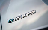 Peugeot e-2008 2020 first drive review - rear badge