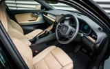Polestar 2 2020 UK first drive review - cabin