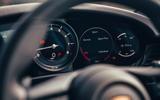 Porsche 911 Carrera 4S 2019 UK first drive review - instruments
