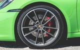 Porsche 911 Cabriolet 2019 first drive review - alloy wheels