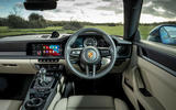 Porsche 911 Carrera S manual 2020 first drive review - dashboard