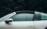 Porsche 911 Targa 2020 UK first drive review - roof