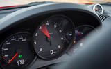 Porsche Boxster T 2019 first drive review - dials
