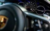 Porsche Cayenne 2018 UK first drive review instrument cluster