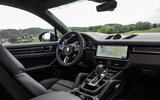 Porsche Cayenne Coupé 2019 first drive review - dashboard