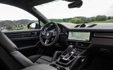 Porsche Cayenne Coupé 2019 first drive review - dashboard