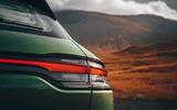 Porsche Macan 2019 first drive review - rear lights