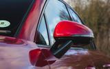 Porsche Macan GTS 2020 UK first drive review - wing mirror