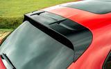 7 Porsche Macan GTS 2021 UK LHD first drive spoiler
