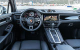 Porsche Macan S 2019 first drive review - dashboard
