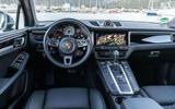 Porsche Macan S 2019 first drive review - dashboard