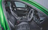 Porsche Panamera GTS 2019 UK first drive review - front seats