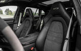 Porsche Panamera GTS Sport Turismo 2020 first drive review - front seats