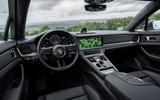 Porsche Panamera Turbo S Sport Turismo 2020 first drive review - dashboard