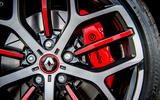 Renault Megane RS 300 Trophy 2019 UK first drive review - brake calipers
