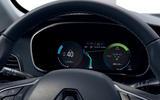 Renault Megane Sport Tourer E-Tech PHEV 2020 first drive review - instruments