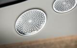 Rolls-Royce Cullinan 2018 first drive speaker grille