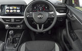 Skoda Kamiq 2019 UK first drive review - dashboard