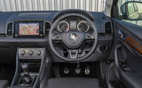 Skoda Karoq Scout 2019 first drive review - dashboard