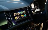 7 Skoda Kodiaq Sportline 2021 UK first drive infotainment