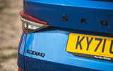 7 Skoda Kodiaq Sportline 2021 UK rear badge